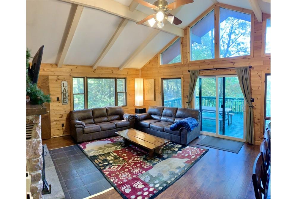 Lake Harmony vacation rental with
