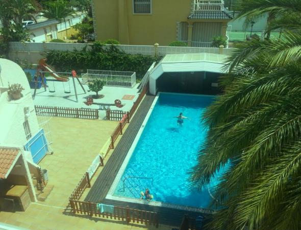 6 dormitorios con piscina privada - Alquiler de vacaciones Aguadulce