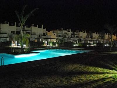 Golf Resort apartment with terrace, covered terrace, pool and garden - Vacation Rental Condado de Alhama. MURCIA. SPAIN