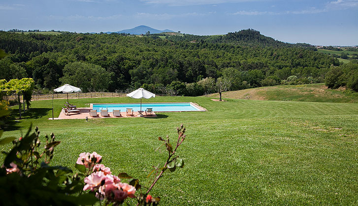 4 Bed Short Term Rental Villa montepulciano