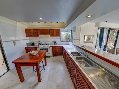 Kitchen Airbnb Alternative Cruz de Huanacaxtle Nayarit Rentals