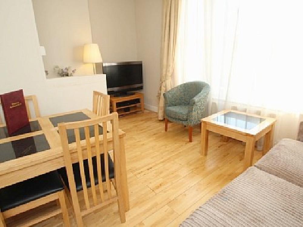 One bedroom second floor apartment