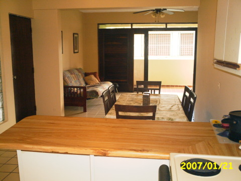 2 Bed Short Term Rental Apartment Luquillo