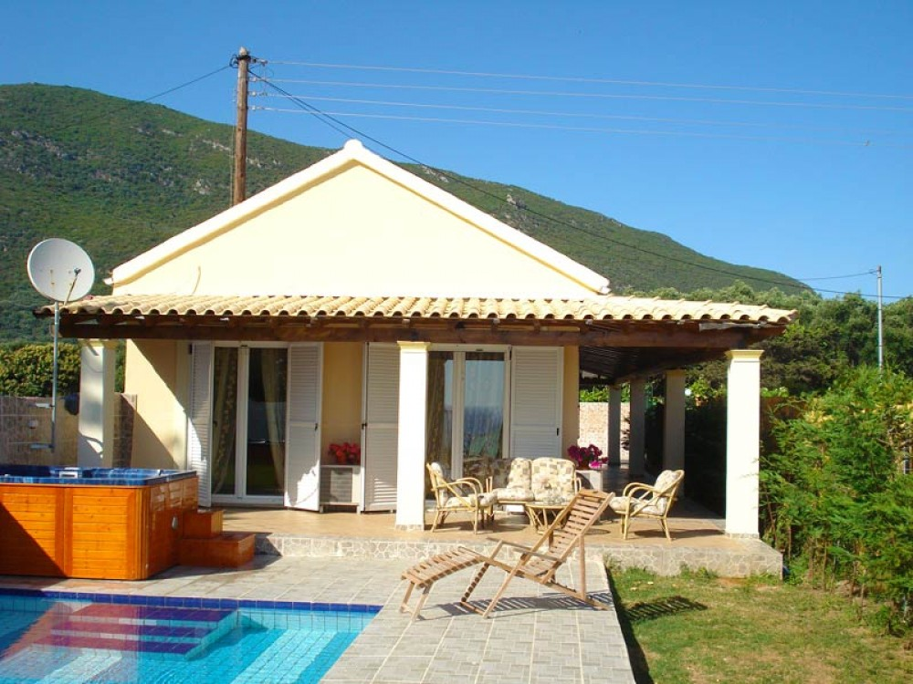 Corfu vacation rental with