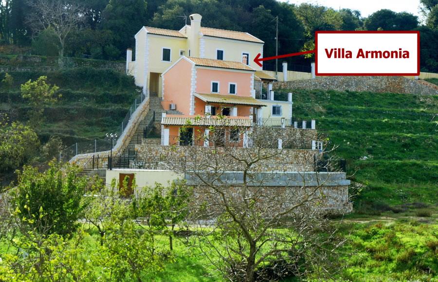 4 Bed Short Term Rental Villa Corfu