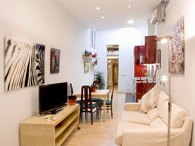 1 Bed Short Term Rental Apartment Barcelona