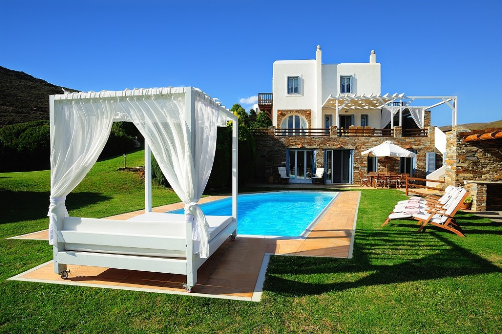 Andros vacation rental with Villa Swimming Pool