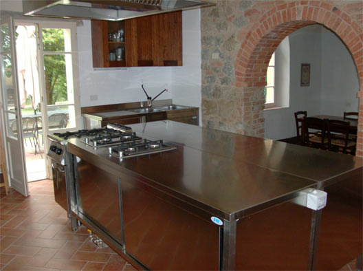 Lucignano vacation rental with