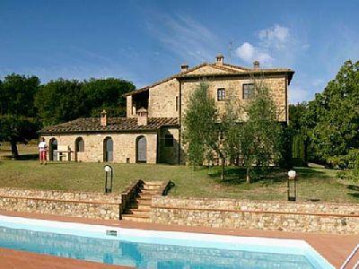 1 Bed Short Term Rental House Gambassi Terme