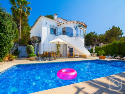 3 Bed Short Term Rental Villa Moraira