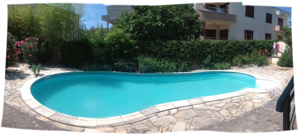 private pool guests only Zadar vacation home