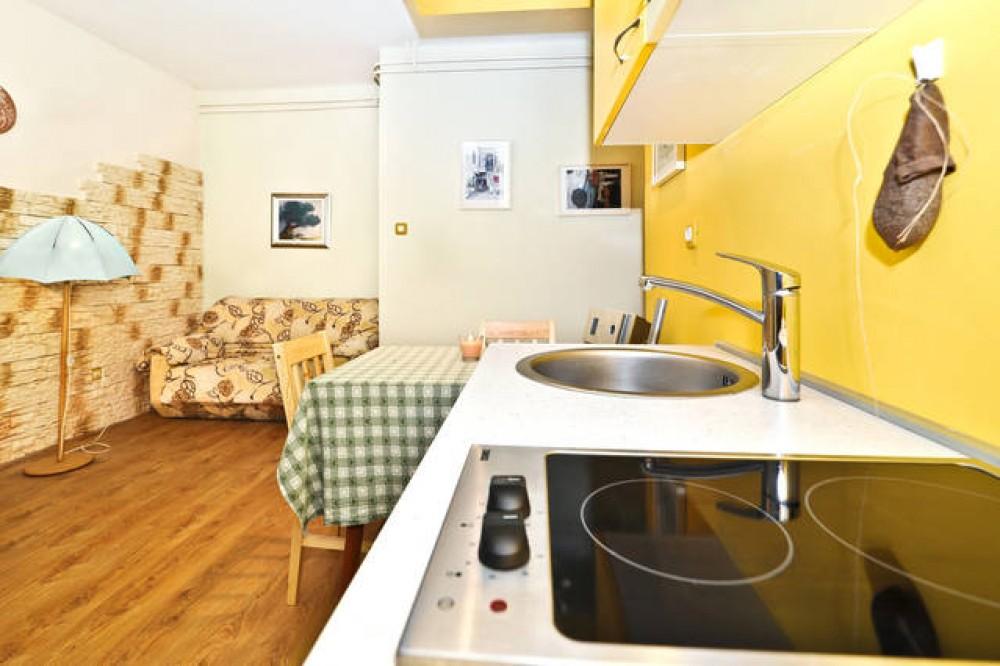 Kitchen 1 green apartment Zadar vacation home