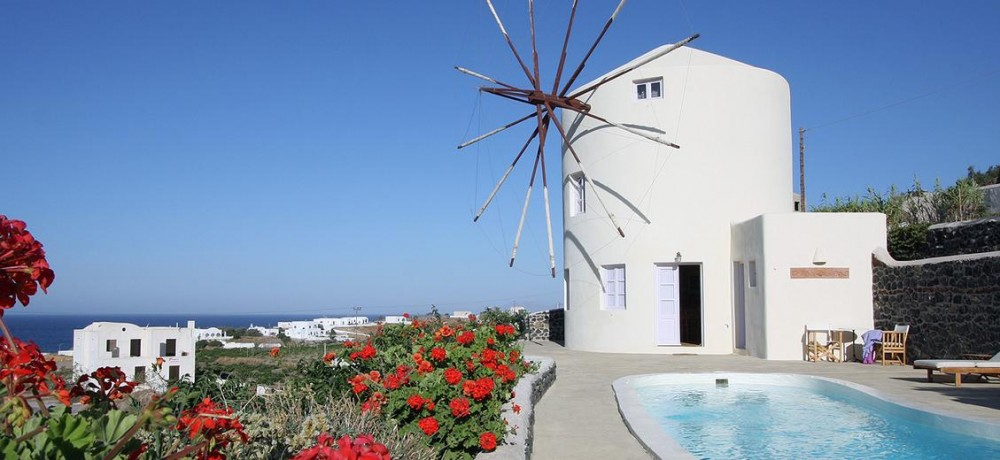 Santorini vacation rental with