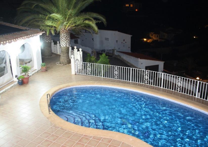 4 Bed Short Term Rental Villa Moraira