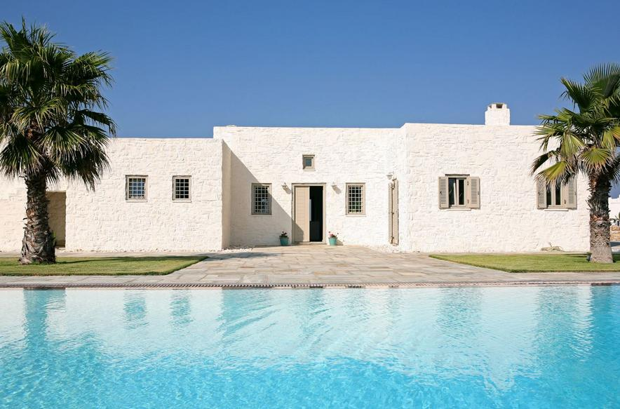 8 Bed Short Term Rental Villa Paros