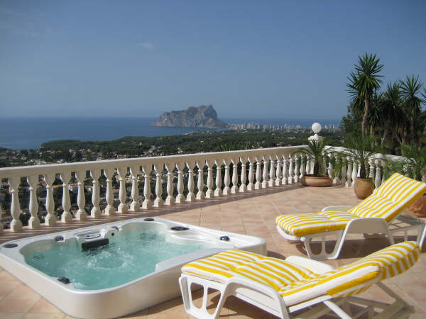 4 Bed Short Term Rental Villa Moraira