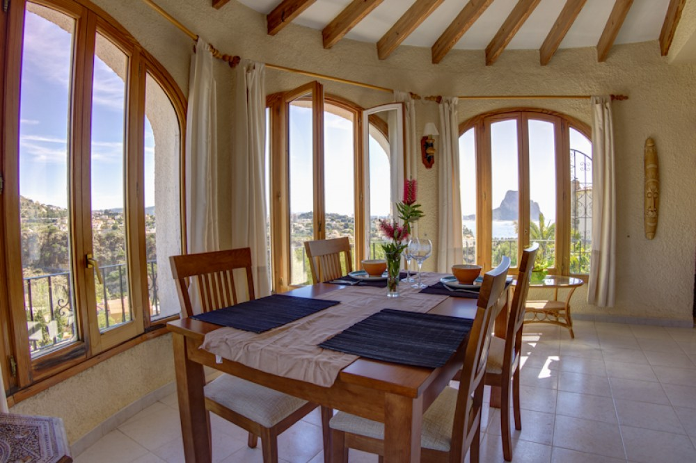 Calpe vacation rental with