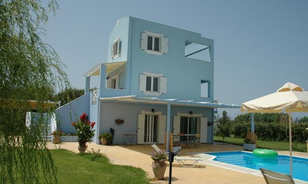 3 Bed Short Term Rental Villa Lefkas