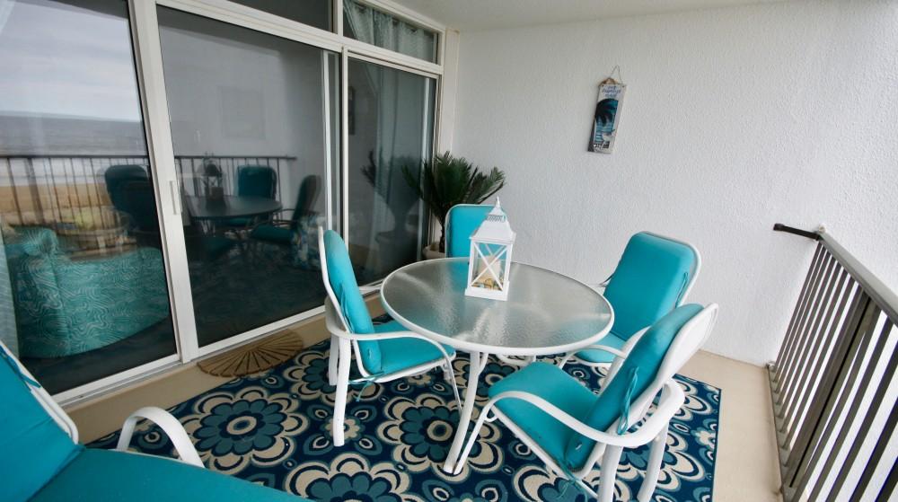 Ocean front patio Airbnb Alternative Ocean City Maryland Rentals