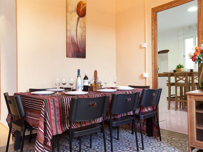5 Bed Short Term Rental Apartment Barcelona