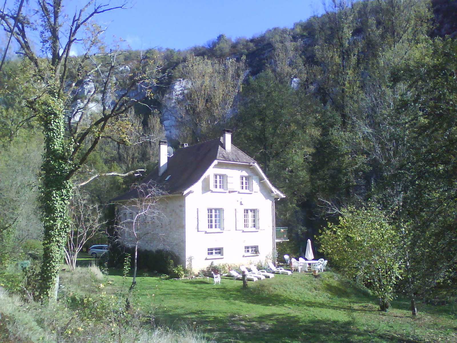 Stone Built House With Balcony - Cabrerets Holiday Rentals