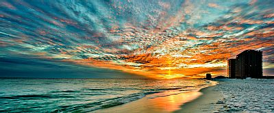 Navarre vacation rental with Breathtaking Sunset