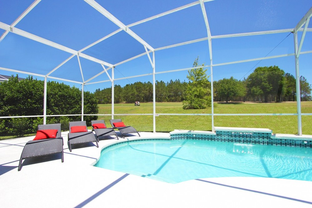 Davenport vacation rental with Estate with Private Pool overlooking Golf Cou
