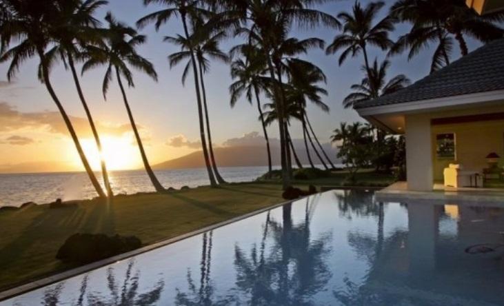 Luxurios Oceanfront Villa in Kihei