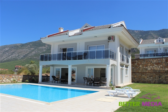 Heights Villa A, with stunning Mountain and valley views.