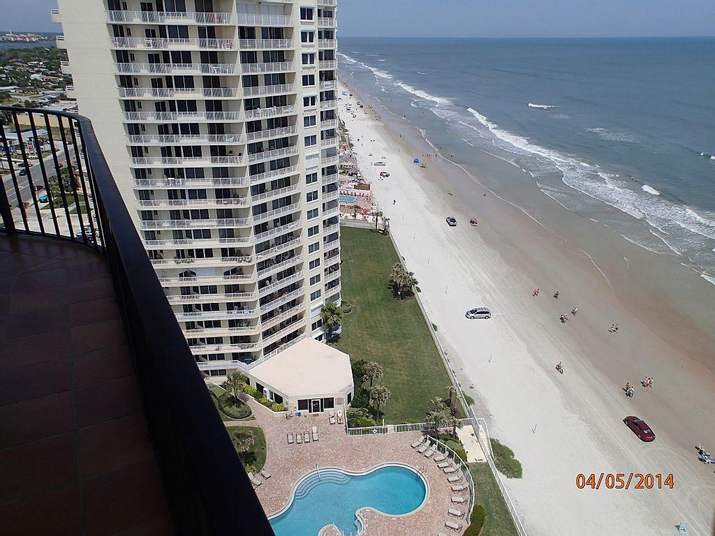 Panoramic View of The Ocean, City and Intracoastal Waterway - Daytona Beach Shores Vacation Rentals