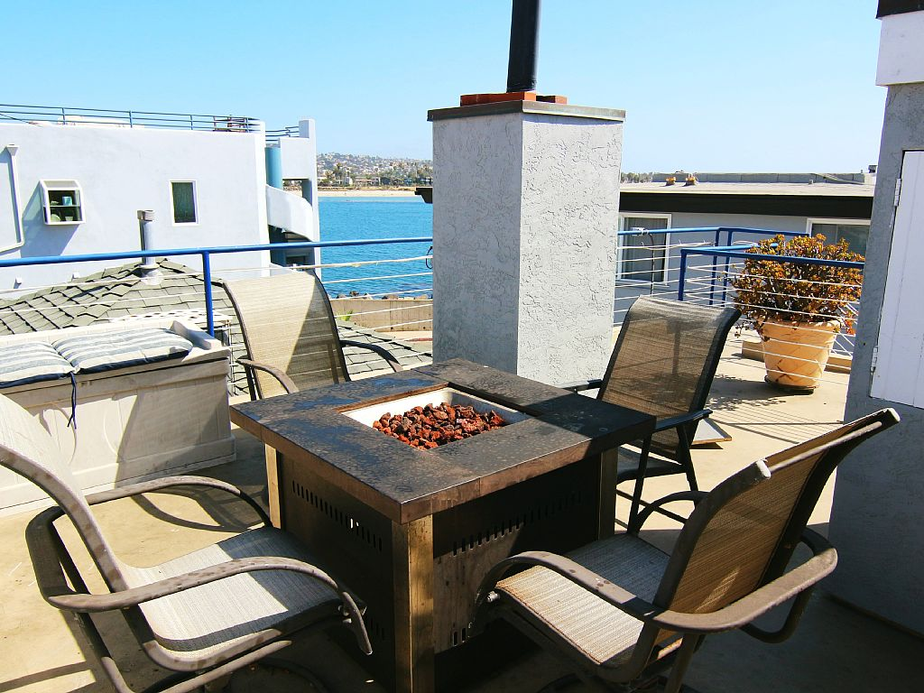 South Mission Beach 5 BR 3BA ,Ocean, Bay, and Jetty Views - Mission Beach Vacation Rentals