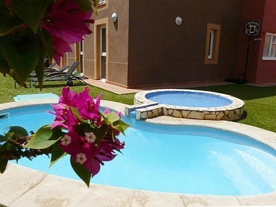STUNNING VILLA STYLE GARDEN APARTMENT WITH PRIVATE POOL