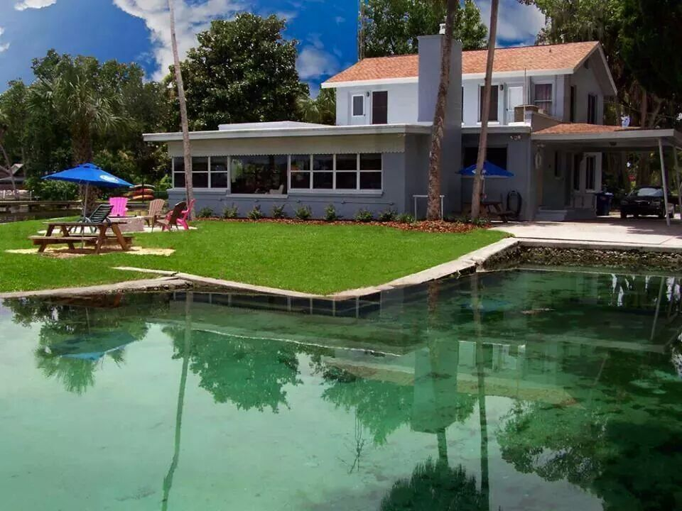 Waterfront Bed & Breakfast Licensed Rental - Crystal River Vacation Rentals