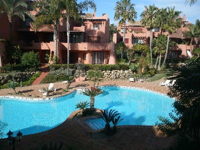 2 Bed Short Term Rental Apartment Estepona