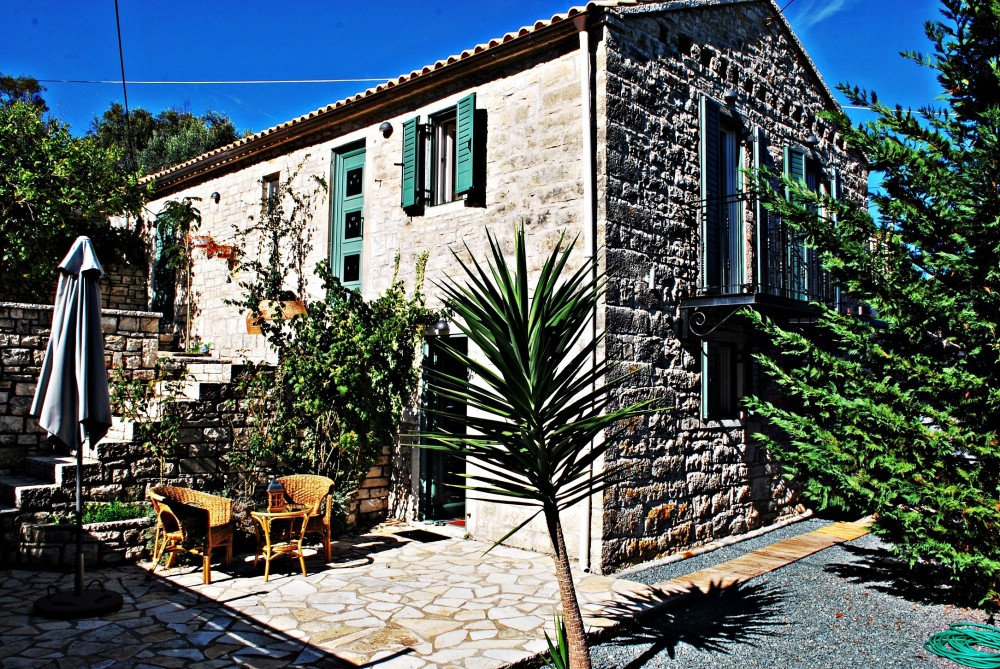 Paxos vacation rental with myPaxos Villa - an exterior look