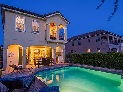5 Bed Short Term Rental Villa Reunion Resort
