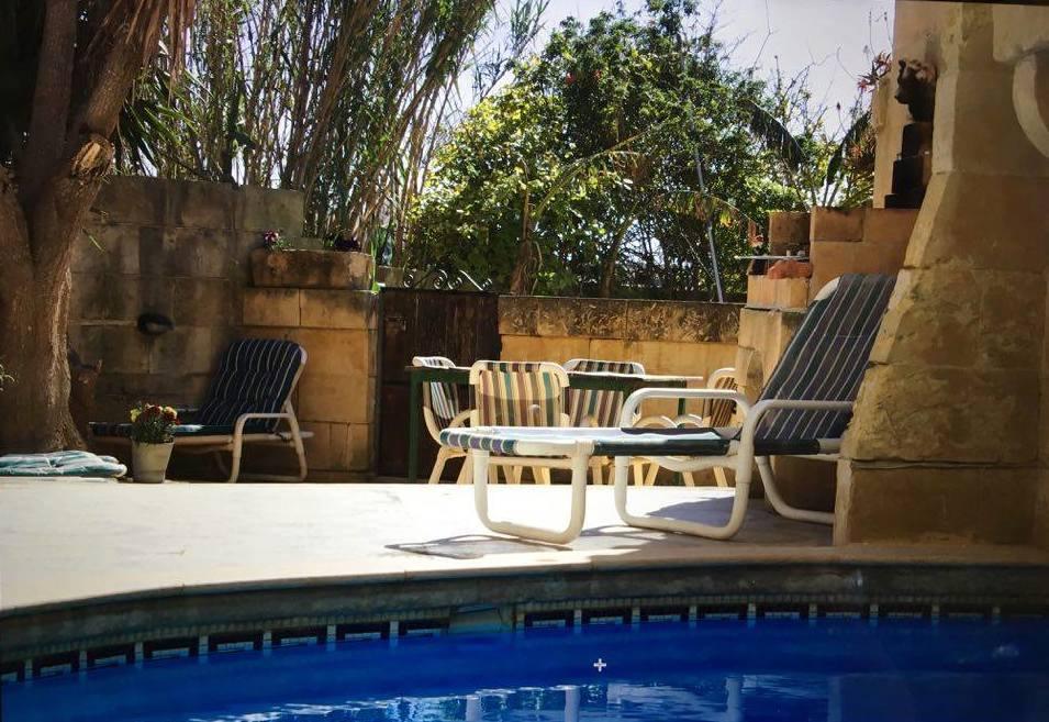 Ghawdex Holiday  Villa / Farmhouse in Gozo Malta with private pool  - near Ramla Bay sleeps up to 10