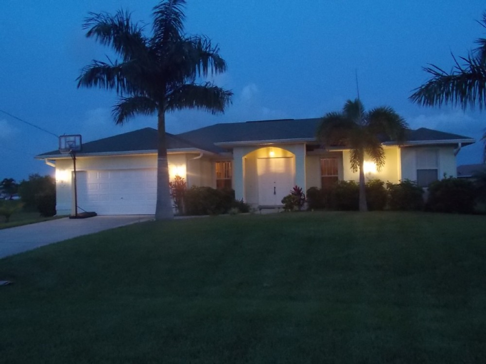 cape coral vacation rental with Exterior View of the villa in Cape Coral