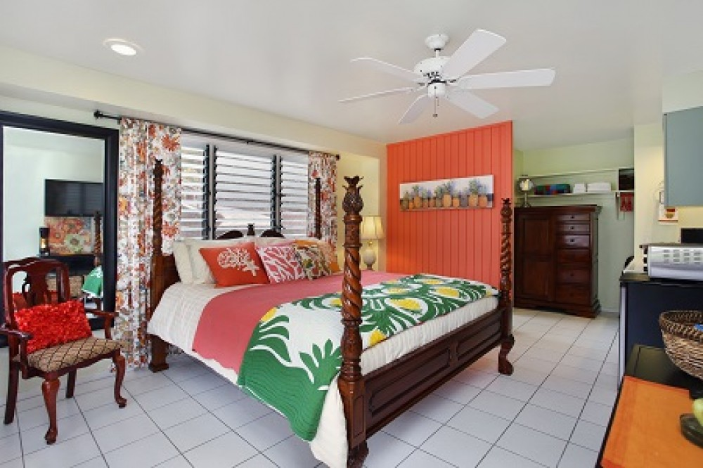 Kailua-Kona vacation rental with Pineapple Suite King Size Bed