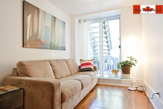 1 Bed Short Term Rental Accommodation Montreal