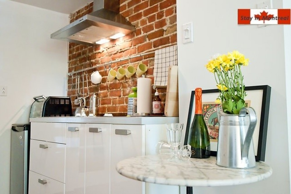 Montreal vacation rental with Kitchen View