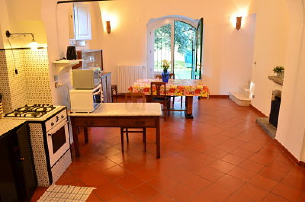 Salerno vacation rental with kitchen