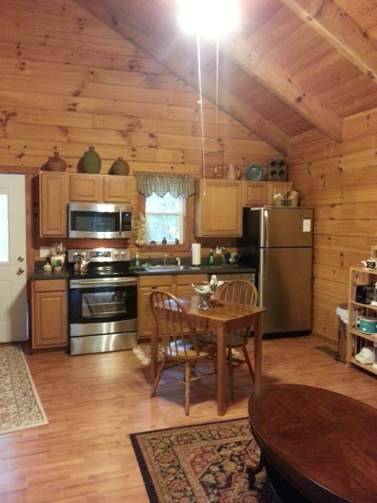helen vacation rental with Full Kitchen with all the amenities