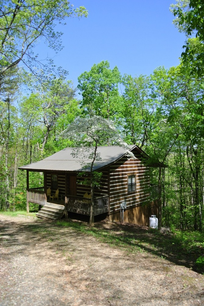 helen vacation rental with Exterior View of cabin