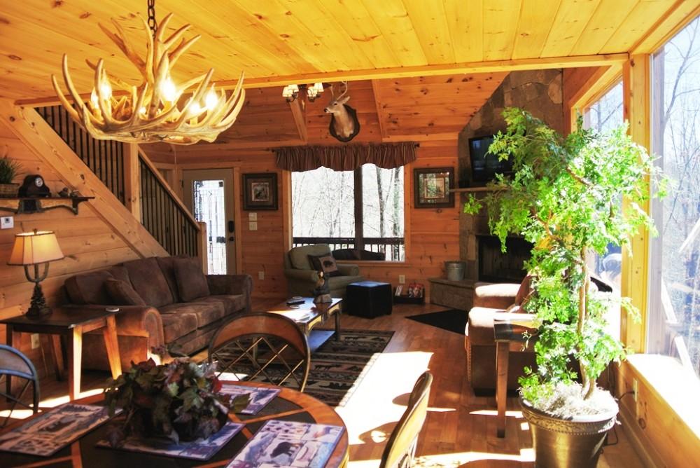 Living Room Airbnb Alternative helen Georgia Rentals