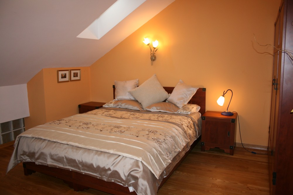 Wroclaw vacation rental with Main bedroom - large double bed