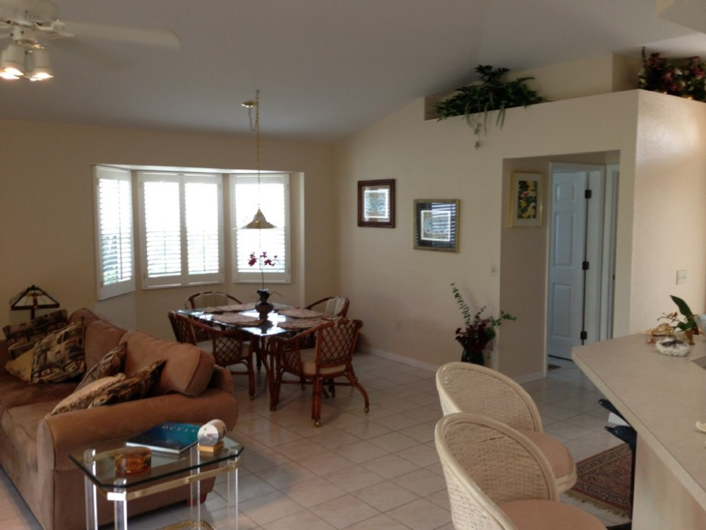 punta gorda vacation rental with Dining