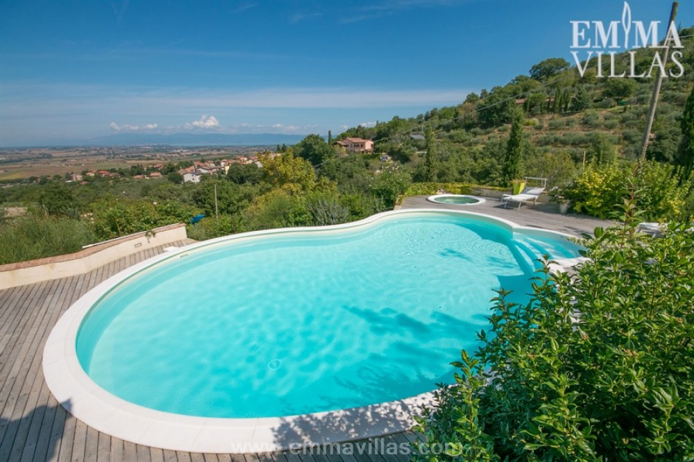 Paciano vacation rental with