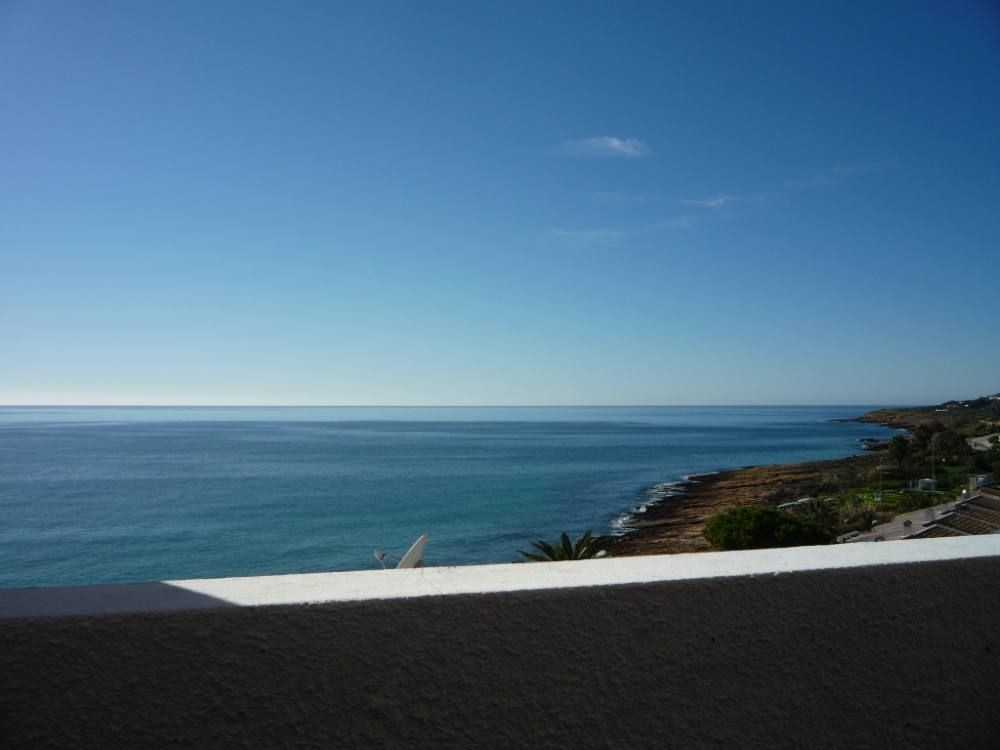 Praia Da Luz vacation rental with view from the balcony