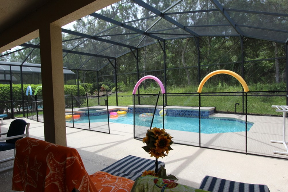 kissimmee vacation rental with pool